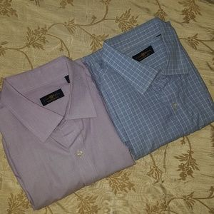Two (2) Club Room Dress Shirts XXL